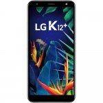 Smartphone LG K12 Plus 32GB 3GB de RAM Tela de 5,7 Octa Core com Câmera de 16MP Platinum