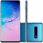 Smartphone Samsung Galaxy S10 Plus Tela 6,4 128GB Dual Chip OctaCore Câmera Traseira Tripla Azul