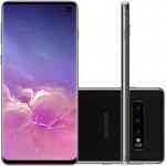Smartphone Samsung Galaxy S10 Preto 128GB Dual Chip Tela 6,1 OctaCore Câmera Traseira Tripla
