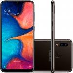 Smartphone Samsung Galaxy A20 32GB 6,4 3GB RAM Camera Traseira Dupla 13MP 5MP Preto