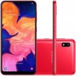 Smartphone Samsung Galaxy A10 32GB 6.2 2GB RAM Câmera Traseira 13MP Vermelho