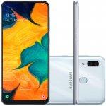 Smartphone Samsung Galaxy A30 64GB 6.4 com 4GB RAM e Câmera Traseira Dupla de 16MP e 5MP Branco