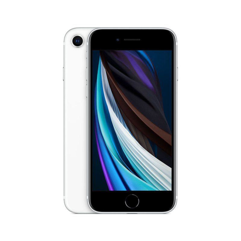 iPhone SE Apple 128GB 4G Branco tela 4,7 Câmera 12MP iOs