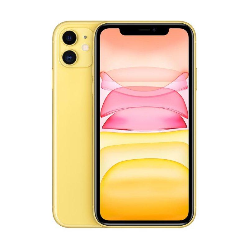 iPhone 11 Apple Amarelo 128GB Tela Liquid Retina HD 6.1 Câmera Dupla 12MP