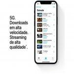 iPhone 12 Apple 128GB Preto Tela Oled 6,1 5G Câmera dupla 12MP iOS