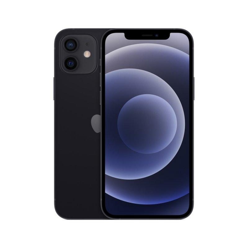 iPhone 12 Apple 64GB Preto Tela Oled 6,1 5G Câmera dupla 12MP iOS