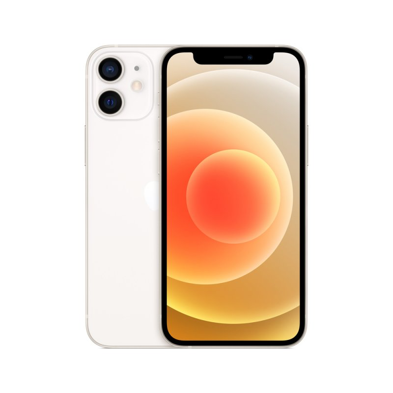 iPhone 12 Mini Apple 256GB Branco Tela Oled 5,4 5G Câmera dupla 12MP iOS