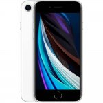 iPhone SE Apple Tela 4,7 64GB iOS 13 4G Touch Chip A13 Câmera de 12MP Impressão Digital Branco