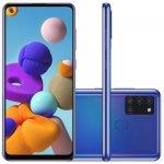 Smartphone Samsung Galaxy A21s 6,5 Dual Chip 64GB 4GB RAM Azul Octa Core Câmera Quádrupla 48MP