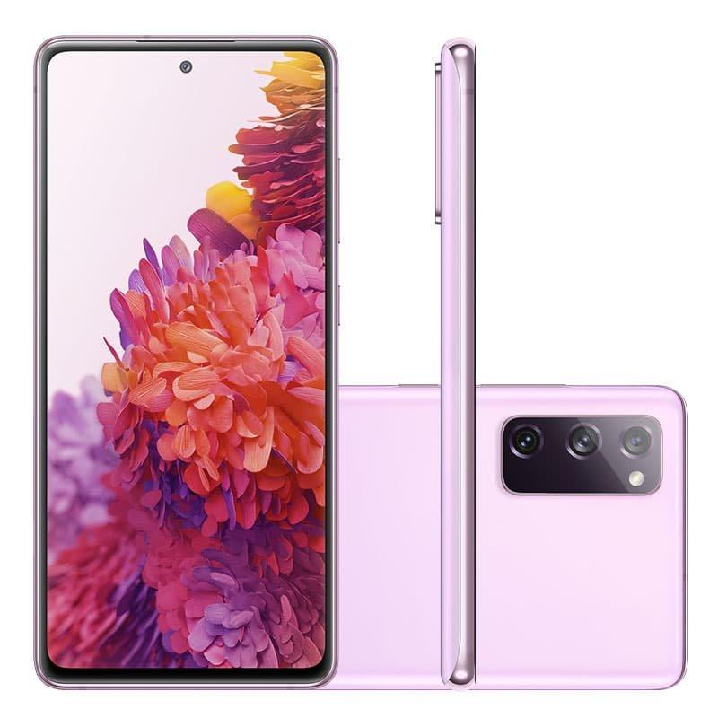 Smartphone Samsung Galaxy S20 FE 256GB 8GB RAM Tela 6.5 Camera Tripla cor Cloud Lavender