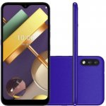 Smartphone LG K22 Plus Azul Tela 6.2 4G Wi-Fi Android 10 Câm Traseira 13 2MP e Frontal 5MP 64GB