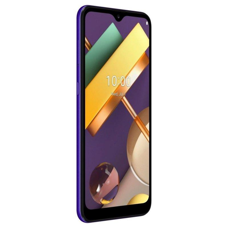 Smartphone LG K22 Tela 6,2 2GB Ram 32GB Câmera Traseira Dupla Quad Core Câmera 13MP Azul