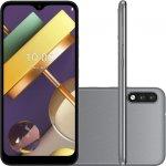 Smartphone LG K22 Tela 6,2 2GB Ram 32GB Câmera Traseira Dupla Quad Core Câmera 13MP Titânio