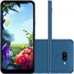 Smartphone LG K40S Azul 32GB 3GB de RAM Tela de 6,1 Octa Core Camera Dupla de 13MP e 5MP