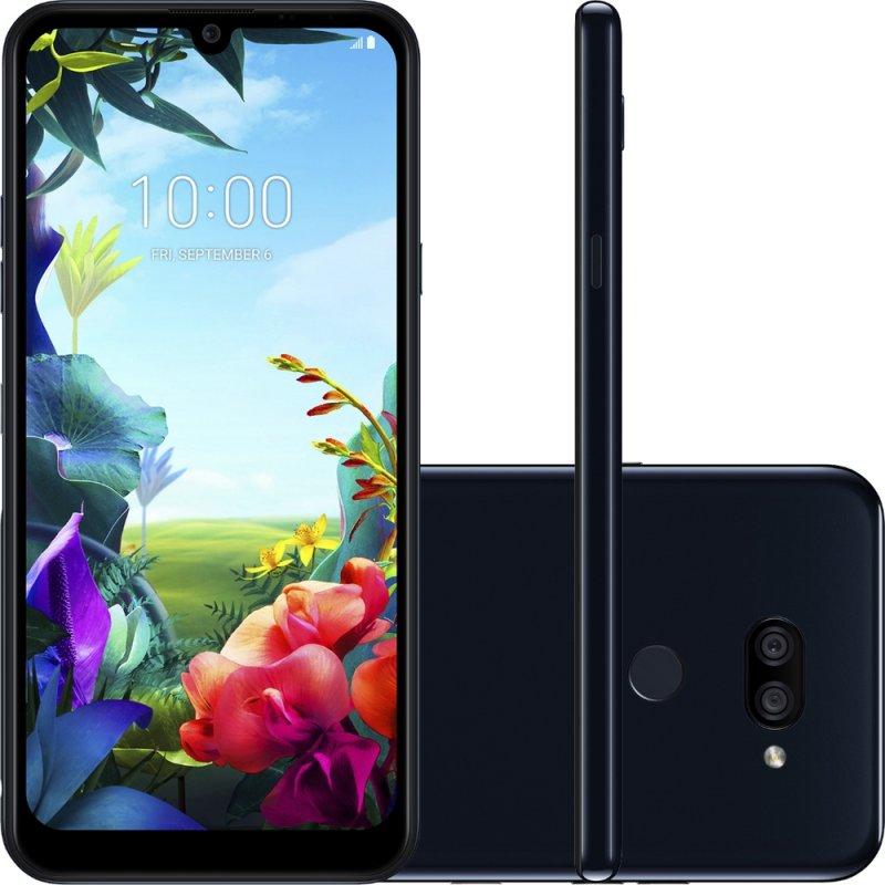 Smartphone LG K40S Preto 32GB 3GB de RAM Tela de 6,1 Octa Core Camera Dupla de 13MP e 5MP