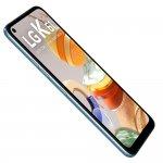 Smartphone LG K61 Titânio Dual chip 4GB Ram 128GB Tela 6,53 Câmera Quadrupla Octa Core 2.3 Branco