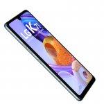 Smartphone LG K71 Branco Tela de 6.8 4G Câmera Traseira de 48 5 5MP e Frontal de 32MP 128GB