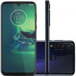 Smartphone Moto G8 Plus 64GB 4GB RAM Tela de 6.3 Câmera Traseira Tripla 48MP 5MP 16MP Azul