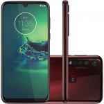 Smartphone Moto G8 Plus 64GB 4GB RAM Tela de 6.3 Câmera Traseira Tripla 48MP 5MP 16MP Cereja
