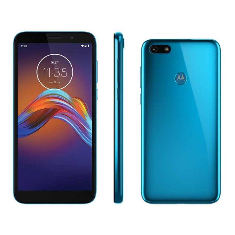 Smartphone Motorola Moto E6 Play 32 GB RAM 2 GB Azul Metálico
