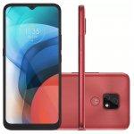 Smartphone Motorola moto e7 64 GB 4G Tela 6.5 Câmera Dupla 48 MP 2MP Frontal 5 MP Cobre