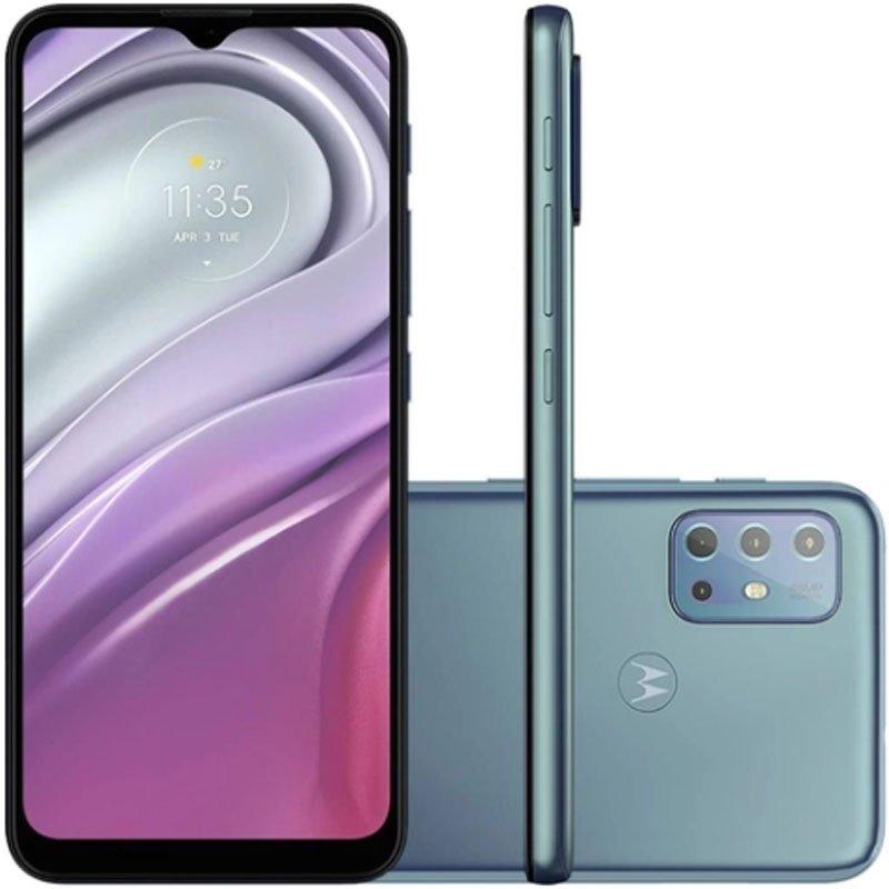 Smartphone Motorola Moto G20 XT2128-1 Dual Chip 4 GB RAM Memória 64 GB Azul