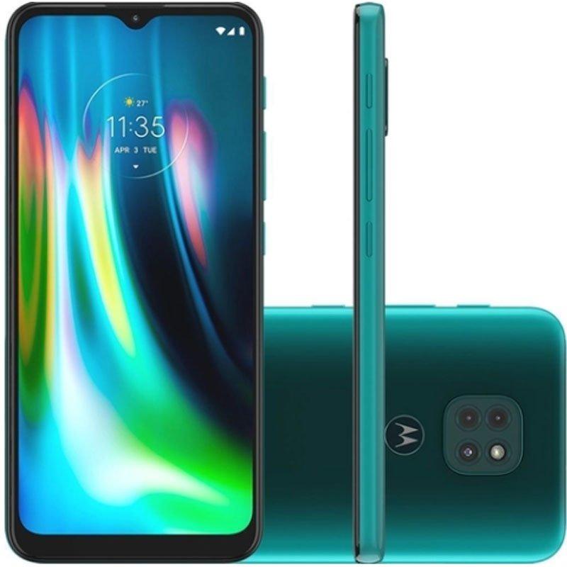 REEMBALADO Smartphone Motorola MOTO G9 Play 6,5 XT2083-1 Dual Chip 4GB Ram 64GB