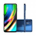 Smartphone Motorola MOTO G9 Plus 6,8 XT2087-1 Dual Chip 4GB Ram 128GB Memória 64MP Azul Indigo