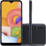 Smartphone Samsung Galaxy A01 32GB 2GB RAM Tela Infinita de 5.7 Câmera Dupla Traseira Preto