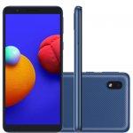 Smartphone Samsung Galaxy A01 Core Tela Infinita de 5.3 2GB Ram 32GB Memória Câmera 8MP Azul