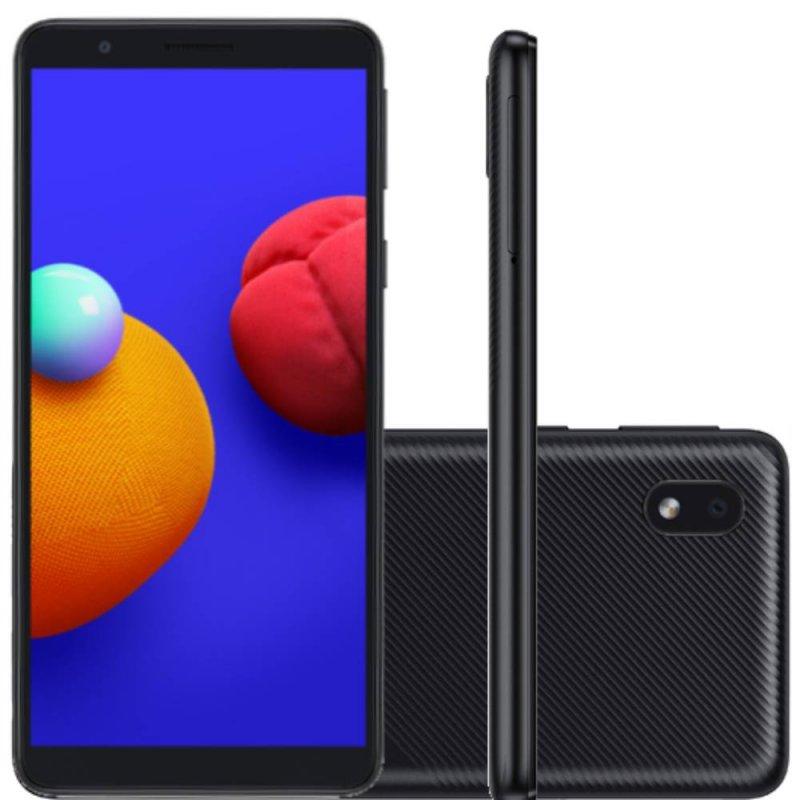 REEMBALADO Smartphone Samsung Galaxy A01 Core Tela Infinita de 5.3...