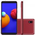 Smartphone Samsung Galaxy A01 Core Tela Infinita de 5.3 2GB Ram 32GB Memória Câmera 8MP Vermelho
