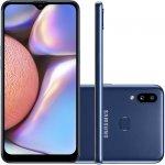 Smartphone Samsung Galaxy A10s 32GB 6.2 2GB RAM Câmera Traseira Dupla 13MP 2MP Azul