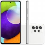 Smartphone Samsung Galaxy A52 Tela Infinita 6,5 128GB 6GB RAM Câmera Quádrupla 64MP Branco