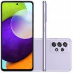 Smartphone Samsung Galaxy A52 Tela Infinita 6,5 128GB 6GB RAM Câmera Quádrupla 64MP Violeta
