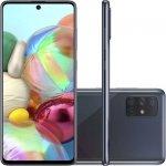 Smartphone Samsung Galaxy A71 6,7 Octa Core Dual Chip 6GB Ram 128GB Memória Câmera 64MP Preto