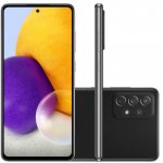 Smartphone Samsung Galaxy A72 Câmera Quádrupla Traseira de 64MP Tela de 6,7 Octa Core Preto