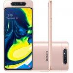 Smartphone Samsung Galaxy A80 128GB 8GB Tela 6.7 Câmera Traseira Tripla Rotativa 48MP 8MP ToF Rose