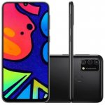 Smartphone Samsung Galaxy M21s Camera Tripla 64MP Preto 64GB 4GB RAM
