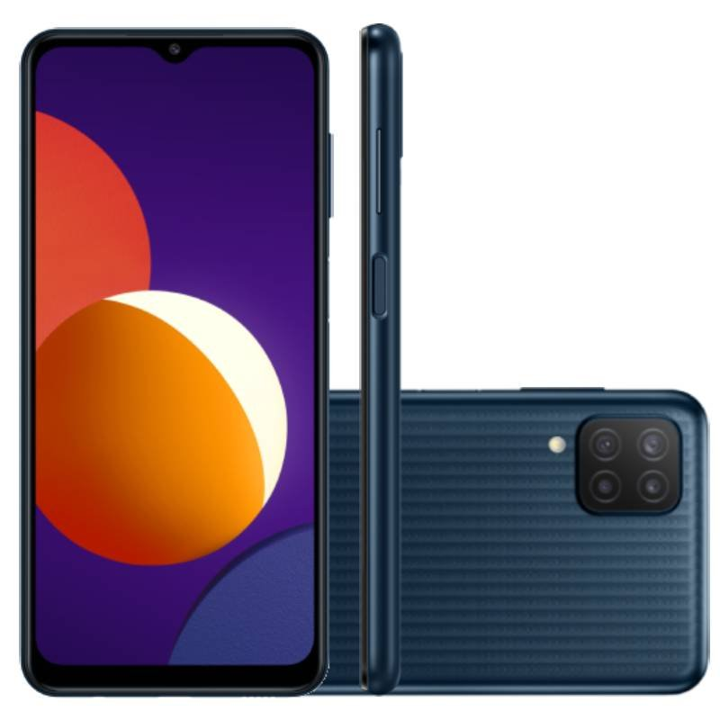 Smartphone Samsung Galaxy M32 128 GB 4G Tela de 6,4 Preto Octa Core Dual Chip 6GB RAM 20MP