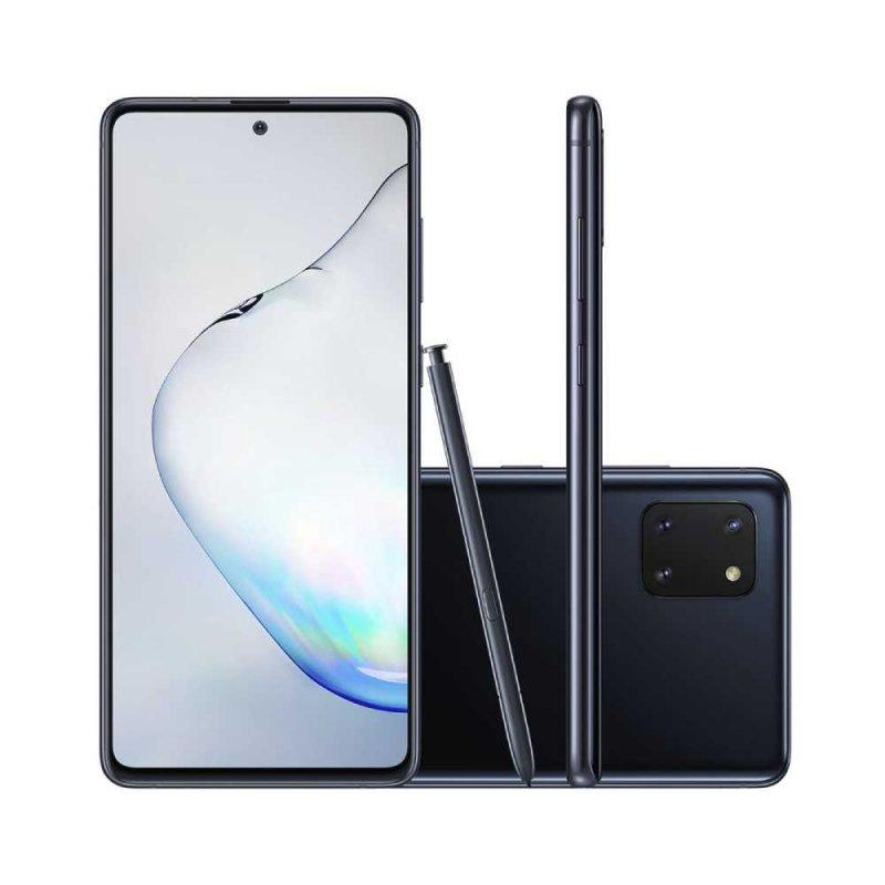 Smartphone Samsung Galaxy Note 10 Lite Dual chip 128GB 6GB RAM, Tela Infinita 6.7 Preto