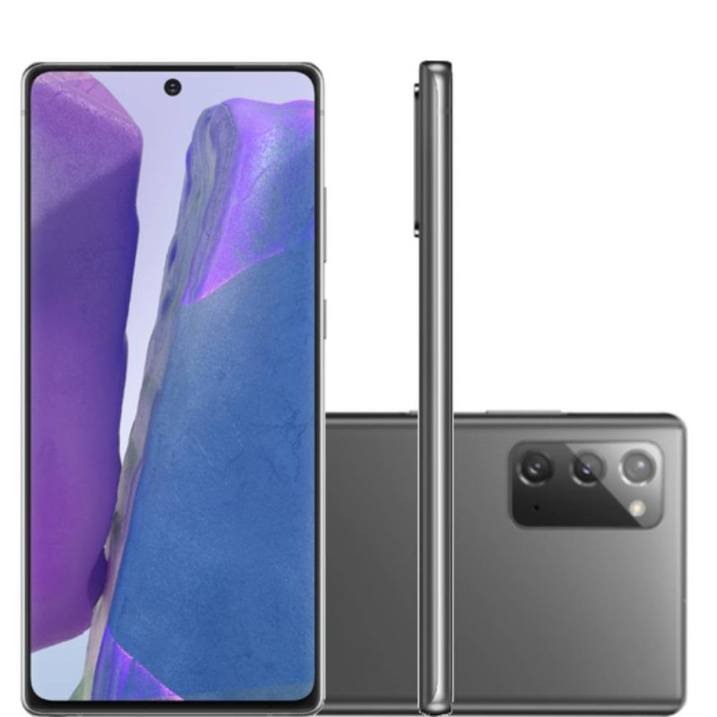 Smartphone Samsung Galaxy Note 20 Tela 6,7 RAM 8GB 256GB Dual Chip Câmera 64MP Cinza
