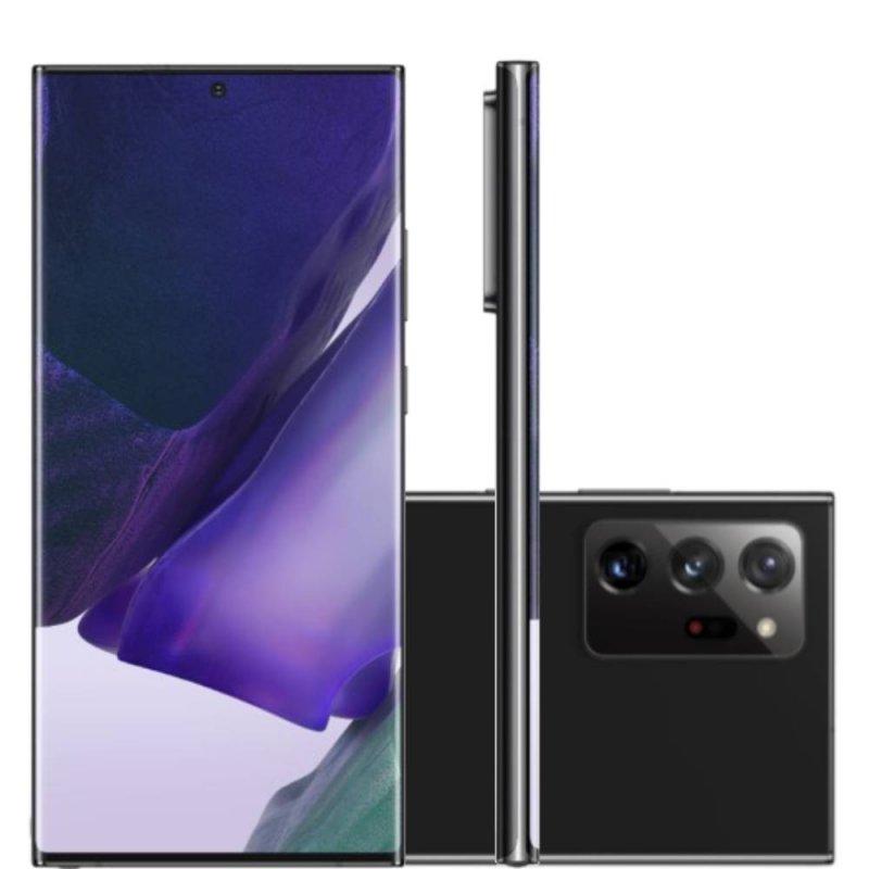 Smartphone Samsung Galaxy Note20 Ultra Tela 6,9 RAM 12GB 256GB Dual Chip Câmera 108MP Preto