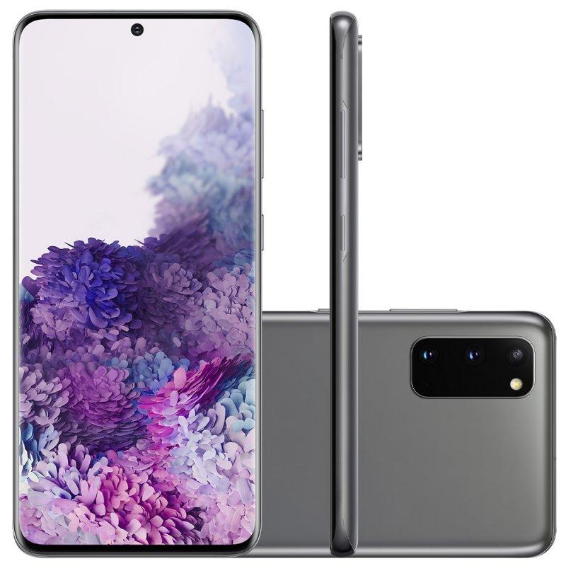 Smartphone Samsung Galaxy S20 128GB Dual Chip 8GB RAM 4G Tela Infinita de 6.2 Cosmic Gray