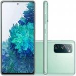 Smartphone Samsung Galaxy S20FE Cloud Mint 128GB 6.5 6 GB RAM Câm. Tripla 12 MP Selfie 32 MP