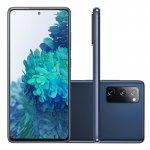 Smartphone Samsung Galaxy S20 FE 128GB 6GB RAM Tela 6.5 Camera Tripla cor Cloud Navy
