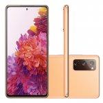 Smartphone Samsung Galaxy S20 FE 128GB 6GB RAM Tela 6.5 Camera Tripla cor Cloud Orange