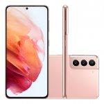 Smartphone Samsung Galaxy S21 Tela Infinita de 6.2 128GB 8GB RAM Câmera Tripla Traseira Rosa