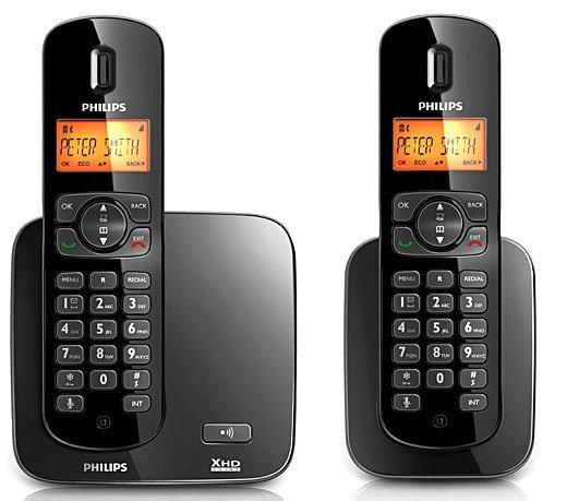 6c77790de Telefones sem Fio Philips CD1702B - Compre Online