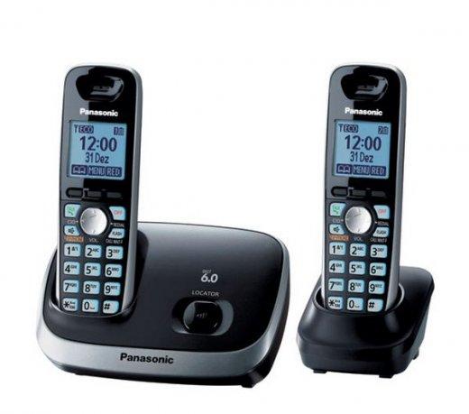 7d0da39ec Telefones sem Fio Panasonic KXTG6512LBB - Compre Online